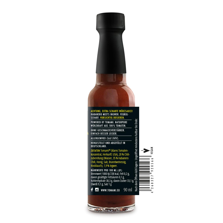 TOMAMI Ingwer+Chili   HOT